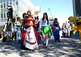Cosplayer Group by Wkter