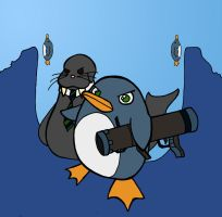 PENGUIN ATTACK by Kuria