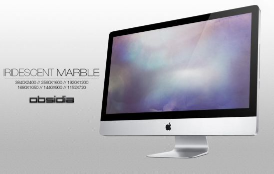 Iridescent Marble by obsidia-designs