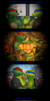 [LXR] TMNT - Without you... by SilverMoonCrystal