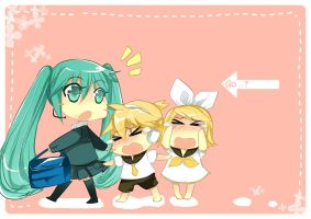 Don't Leave Us, Miku-nee! by chrena