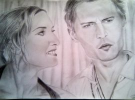 Johnny Depp and Kate Winslet by Noosha77