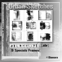 UrbanSketches Specials Frames by Diamara