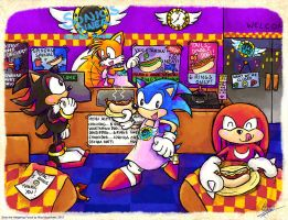 Sonic's Diner - Chillydog Takeaway by MissNeens