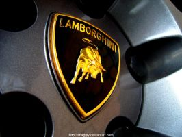 lamborghini badge. by shaggly