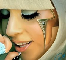 Lady Gaga by DiamonikaDunsonArt