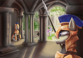 Palace Guard by BrotugueseViking