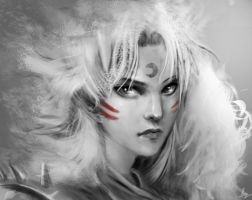 Sesshomaru by trungtinart