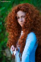 I am strong, I am brave, I am Merida! by ThePiccolaPi