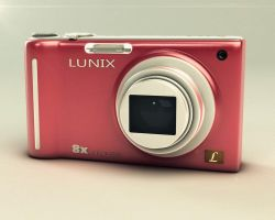 Lumix Camera Model by Aeonhem
