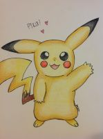 Pika Pika by shiny9tails