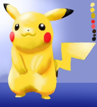 Pika Painting by Connan-Bell