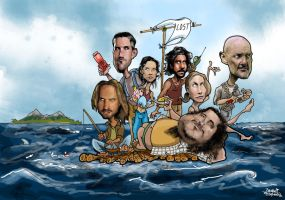 lost caricatures by efdemon