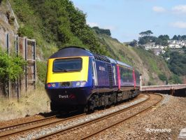 First Great Western 43187 at Teignmouth by The-Transport-Guild
