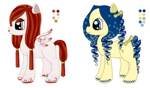 Adoptable ponies [OPEN] by Arashi-Howaito