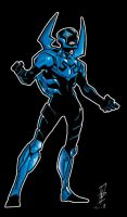 Blue Beetle III by realpuncher