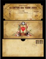 Artegraphic Greeting Card by ge12ald