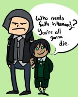 Who Needs Faith in Humanity? by Kaxen6
