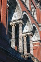 Victoria And Albert Museum Italianate Facade by aegiandyad