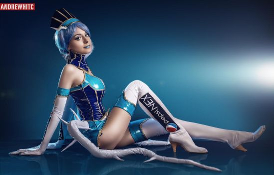 Blue Rose Cosplay TIger and  Bunny by AlienOrihara by andrewhitc