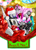 Optimus and Laurelin contest picture by Star10