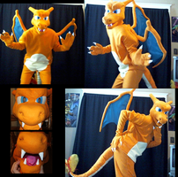 Charizard Costume by ZeroSune
