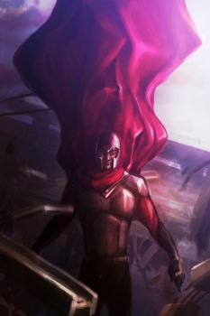 Magneto -- X-men by MrBorsch