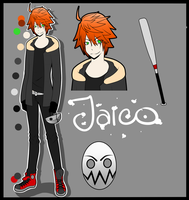 Creepypasta OC: Jaico - UPDATED/redone by KiNGHeichou