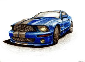 Ford Mustang GT500 by LukeDesigns