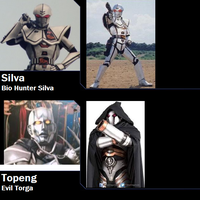 Crossover Toku Villains for neiger by AdrenalineRush1996