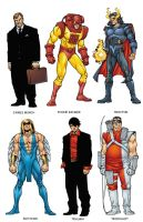 Avengers Handbook 4 Color by Uncle-Gus