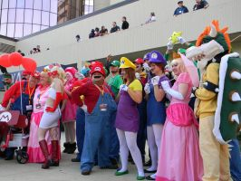 Super Mario Bros - Anime Central 2013 by EndOfGreatness