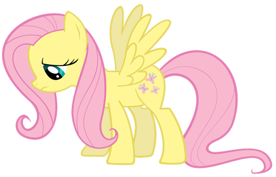 Sad Fluttershy by ExiBrony