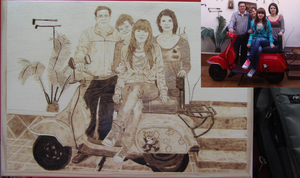 Special Day - Pyrography by HevyPyrography