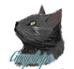 :Warrior Cat: Greystripe by dr--thunder