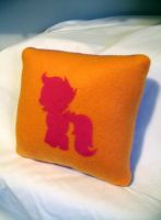 Scootaloo Pillow by CynicalSniper