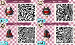 [QR Code] Mikotsu's dress by KurisuXGrellSutcliff