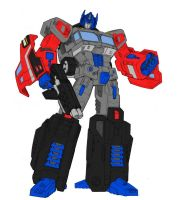 Classics Optimus Prime G2 COLORS by Wartator