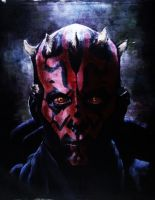 Darth Maul by aralei