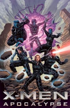 Xmen Apocalypse poster with Guy Dorian by Ross-A-Campbell