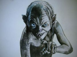 Gollum by Drunia3732