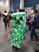 Creeper Cosplay by okamitsuki