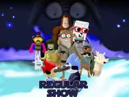 Regular Show Strikes Back by mattbyles