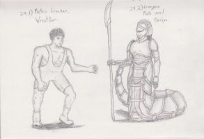 Figure 24 - Metro Crusher and Gorgon Plate-mail by TheHiddenElephant