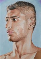 Amir Khan - promarkers and pencils by Martinhoo