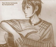Le guitar player by vampheria