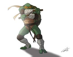 Mikey the Turtle by CurroHerrero