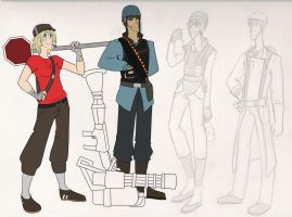 Cable Car- TF2 Classes by MissingSock