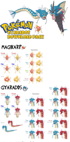 DOWNLOAD: XY Gyarados Pack by BennyBrutt