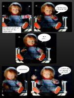 Chucky's reaction to his fans by captstar1